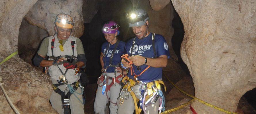 Científicos mexicanos indagan fisiología de camarones ciegos que viven en cuevas y cenotes en península de Yucatán