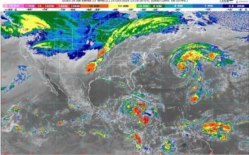 Descenderá la temperatura en la tarde-noche en N y NE de México; sureste y península de Yucatán con lluvias