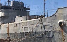 Gestionan hundimiento de buque de la SEMAR en San Carlos, para crear arrecife artificial
