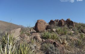 Abierta la zona arqueológica Boca de Potrerillos en Nuevo León, para admirar pinturas rupestres