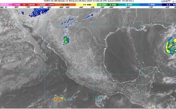 Lluvias en Chiapas, Oaxaca, Quintana Roo y Yucatán; frío, vientos y tolvaneras en Chihuahua, Coahuila y Durango
