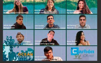Biólogos egresados de la UAM ganan primer lugar del Ocean Hackathon México 2020