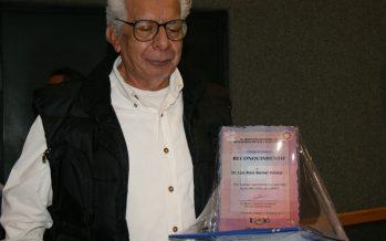Homenaje al Dr. Luis Raúl Berriel Valdos, eminencia mexicana en holografía, espectrofotometría y colorimetría