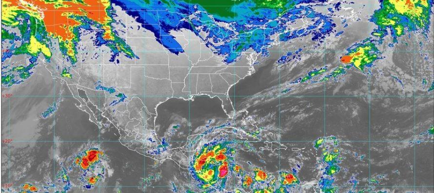 Frente Frío No. 13 provoca lluvias torrenciales; ambiente frío con heladas en el norte, centro y oriente de México