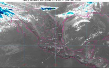 Frente Frío No. 23 ocasionará rachas de viento de 50 a 60 km/h en Baja California, Chihuahua, Coahuila y Nuevo León; desciende temperatura