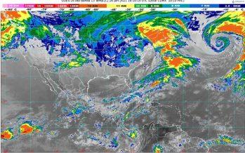 """Lluvias en Veracruz, Chiapas, Oaxaca, Puebla y Tabasco; sigue el """"norte"""" en el Golfo de México y la región de Tehuantepec"""