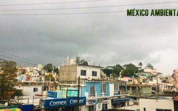 Descenso general de la temperatura en México; lluvias muy fuertes en Chiapas, Oaxaca, Tabasco y sur de Veracruz